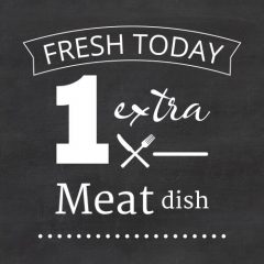 extra meat dish